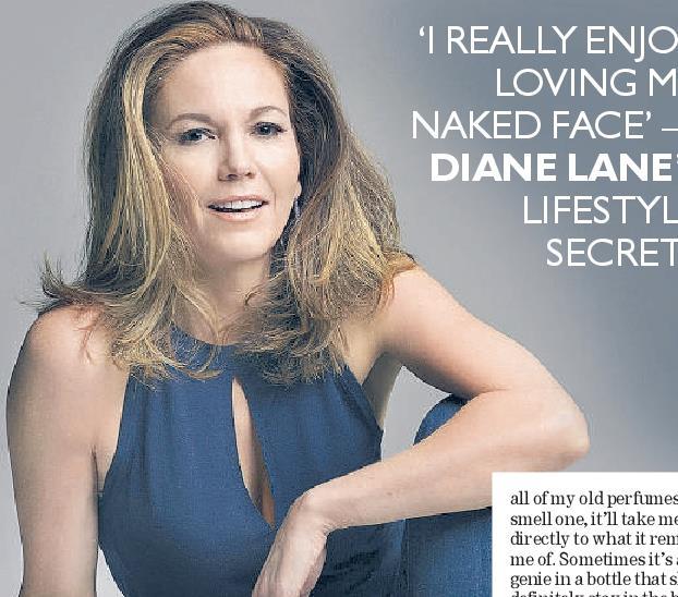 I Really Enjoy Loving My Naked Face Diane Lane S Lifestyle Secrets